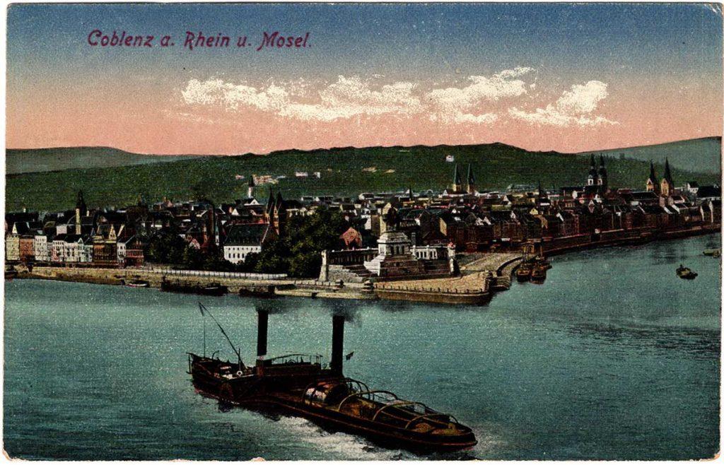 Coblenz a. Rhein u. Mosel.