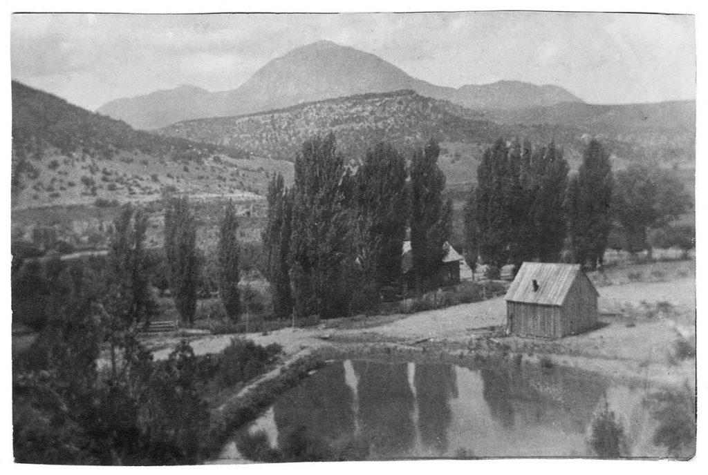 The Schalles farm in Colorado.
