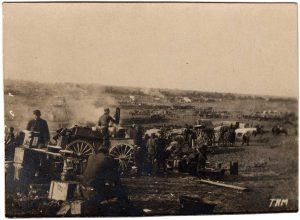 World War One (WWI): large encampment