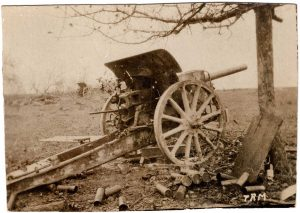 World War One (WWI): Cannon