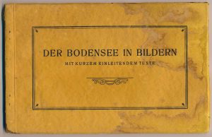 Der Bodensee in Bildern: Cover