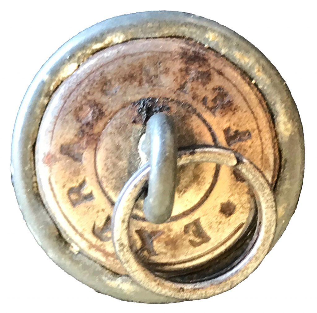 World War One German Aviator's Button - Back