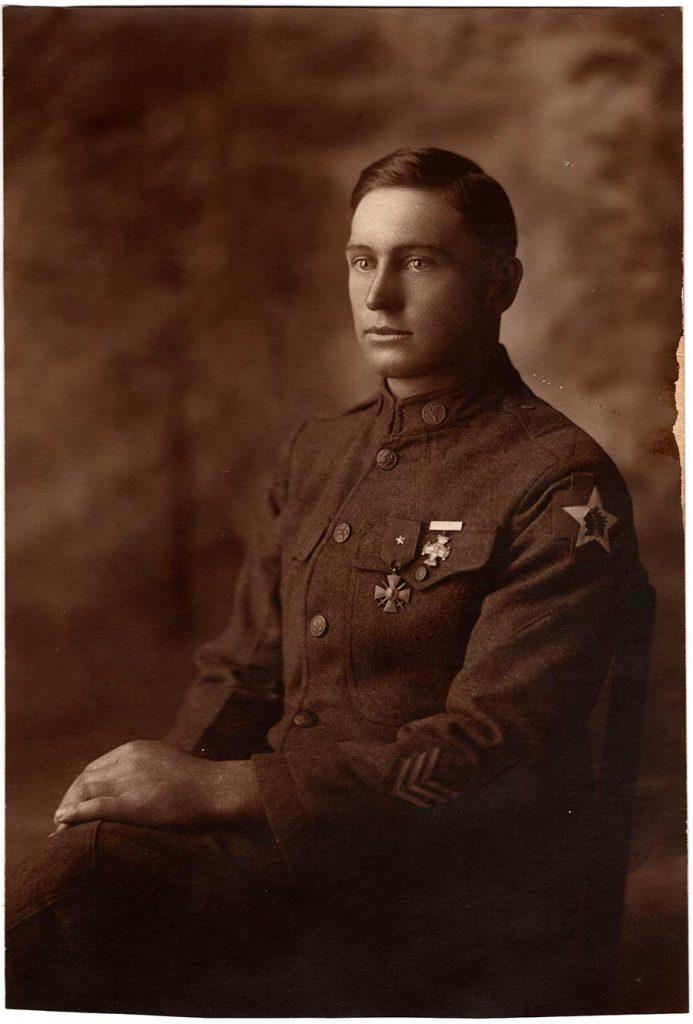 Private First Class Robert E. Schalles