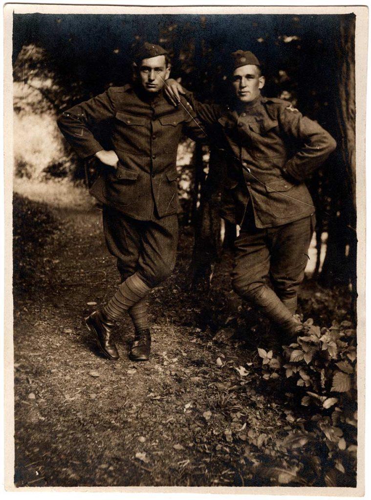 Robert E. Scalles and Joe Schalles, his cousin