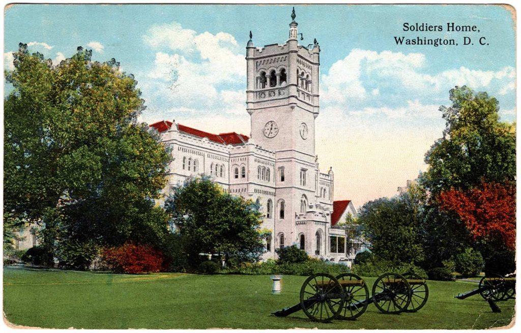 Postcard by Robert E. Schalles, November 28, 1917 : Front