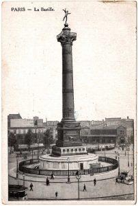 Postcard - Paris: La Bastille