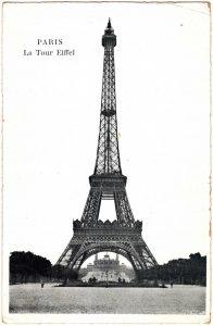 Postcard - Paris: La Tour Eiffel