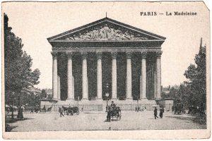 Postcard - Paris: La Madeleine