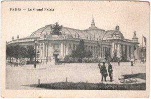 Postcard - Paris: Le Grand Palais