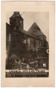 Church used as Triage at Nuart-Meuse-Argonne
