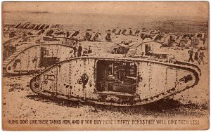 Huns don't like these tanks now and if you buy more liberty bonds they will them less