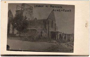 Church at Morsain Aisne-Front
