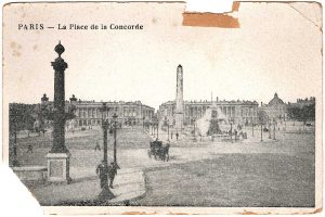 Postcard - Paris: La Place de la Concorde
