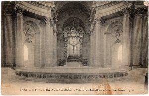Postcard - Paris: Hotel des Invalides. Dome des Invalides. Vue interieure