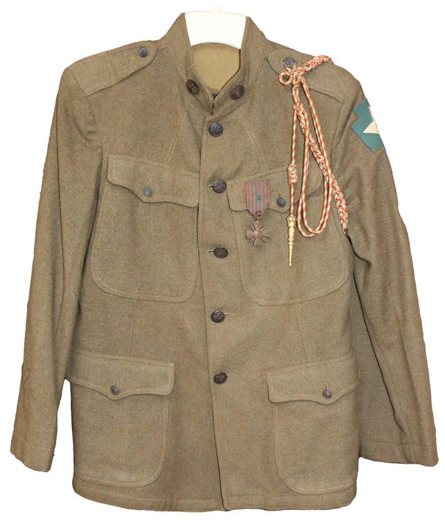 World War One Uniform of Robert E. Schalles