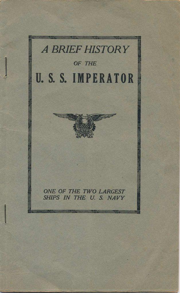 U.S.S. Imperator Booklet Cover