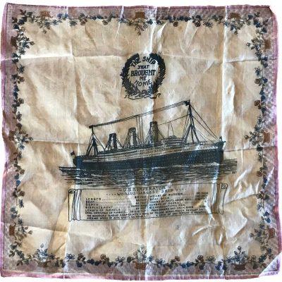 U.S.S. Imperator handkerchief