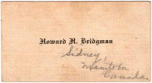 Howard H. Bridgman