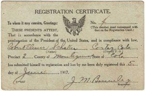 Registration certificate
