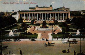 Berlin, World War One Era: Lustgarien mit konigl. Museum