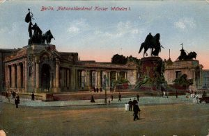 Berlin, World War One Era: Nationaldenkmal Kaiser Wilhelm I.