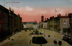 Berlin, World War One Era: Schlossplatz