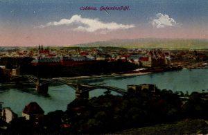 World War One Postcard: Coblenz Germany: Gefamtanficht