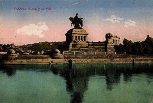 World War One Postcard: Coblenz Germany: Deutfches Ech.