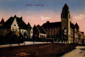 World War One Postcard: Coblenz Germany: Regirung