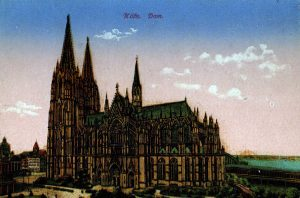 World War One Postcard: Coblenz Germany: Kofn. Dom.