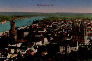 World War One Postcard: Coblenz Germany: Andernach a. Rh.