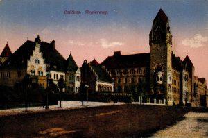 World War One Postcard: Coblenz Germany: Regierung.