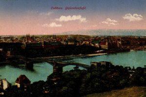 World War One Postcard: Coblenz Germany: Gefamfanficht.