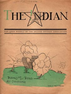 The Indian - 2nd Division WWI Publication - April 29-1919 - Cover