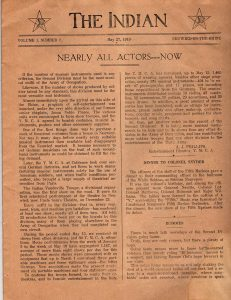 The Indian - 2nd Division WWI Publication - May 27-1919 - Page 1